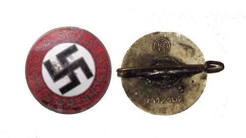 NSDAP Badge number 2