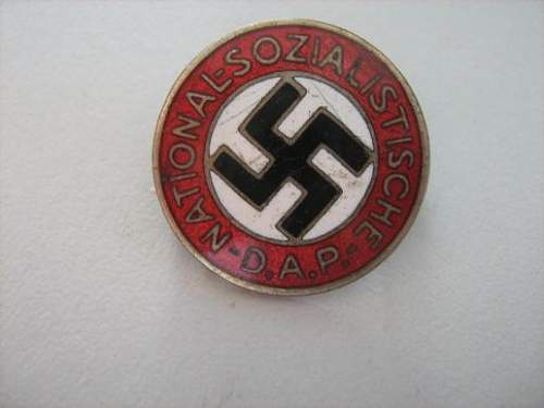 Party badge good or bad