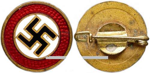 Purchased today NSDAP sympathizer badge