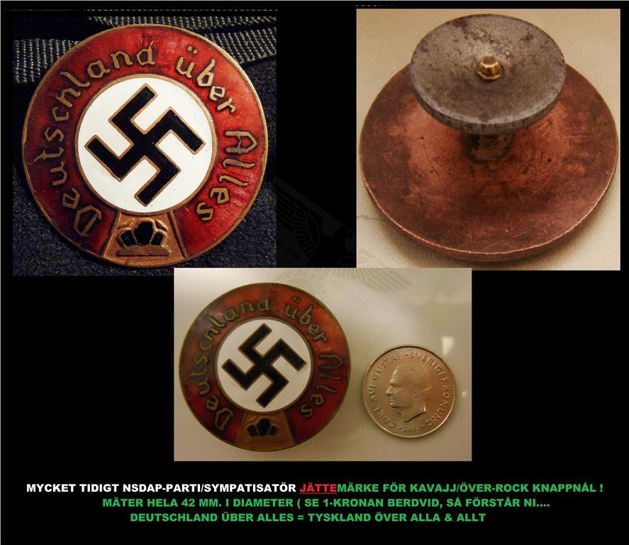 Nazi pin from the 30s (