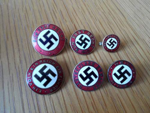 My First Nun Erst Recht party badge