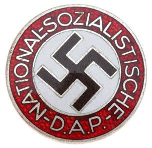 Real or fake NSDAP Badge pins?