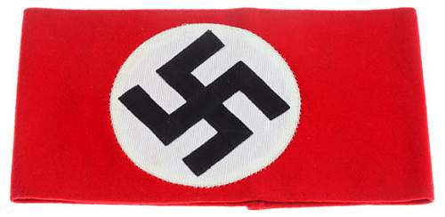 NSDAP Overcoat armband