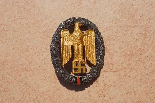 Rare Sudetenland badge