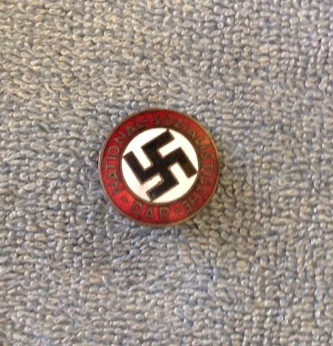 Need help! Nationalsozialistische DAP pin