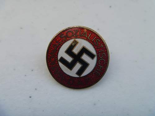 About to purchase a NSDAP party pin - opinions?