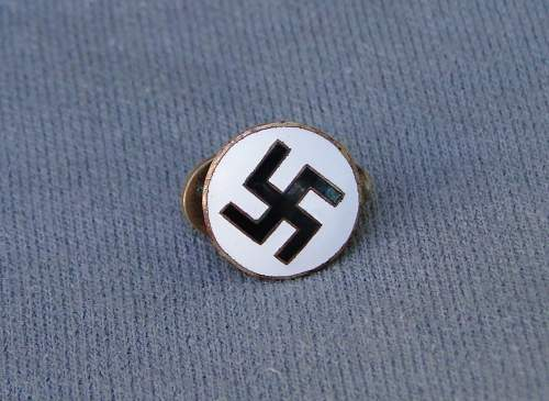 NSDAP pin Help