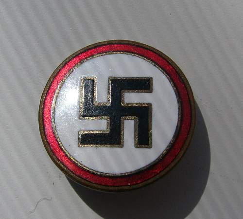 RZM 41 mark  Sympathizer Pin ?