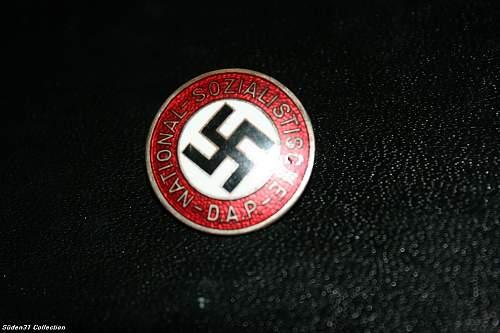 Nsdap Membership Badge
