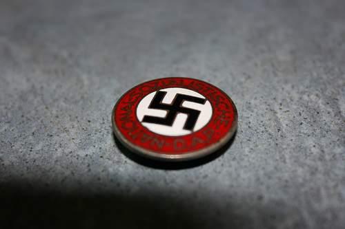NSDAP party badge