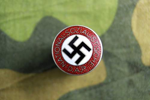 Silver party badge RZM M1/85