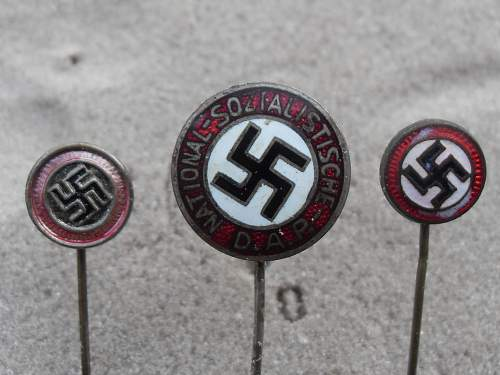 3 stick pins