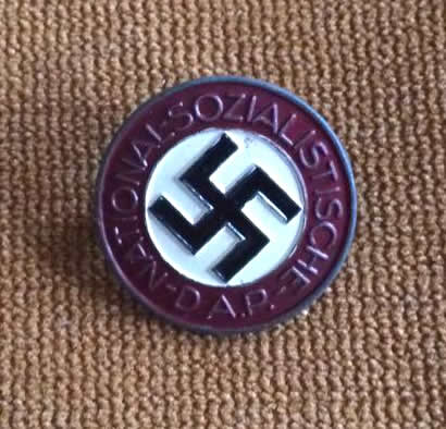 Hans Doppler, Wels - Painted Party Badge
