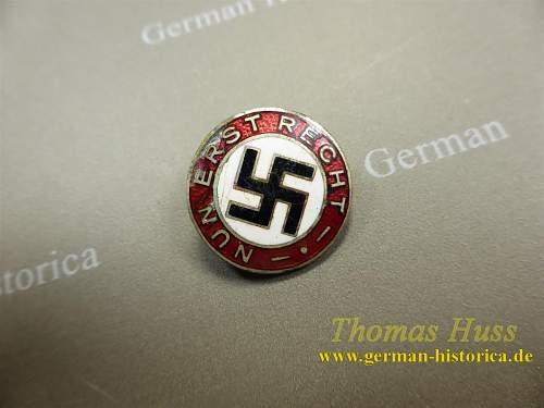 NSDAP parteiabzeichen - Nun erst recht