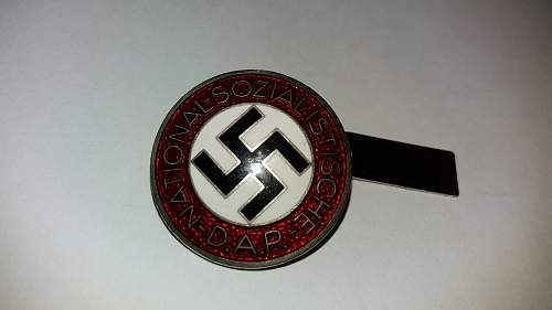 NSDAP Badge: Genuine or Reproduction