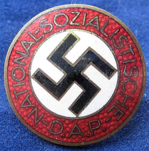 Are these original NSDAP membership badges ?