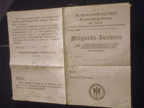 NSDAP Cloth ID??