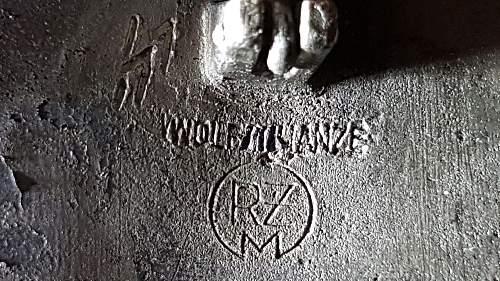 Click image for larger version.  Name:NSDAP 1933 Badge Rear 3.jpg Views:41 Size:250.1 KB ID:999790