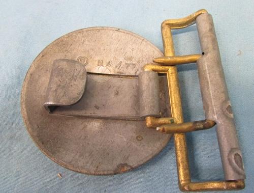 M4/77 NSDAP zinc buckle