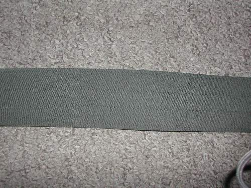 WH Officer Parade belt all original?