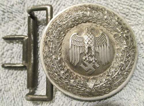 Heer Officer Buckle - for review