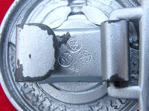 SS Officer Buckle for Opinions