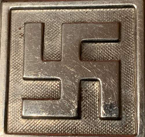 German Buckles in My Collection - Roundel Close Ups