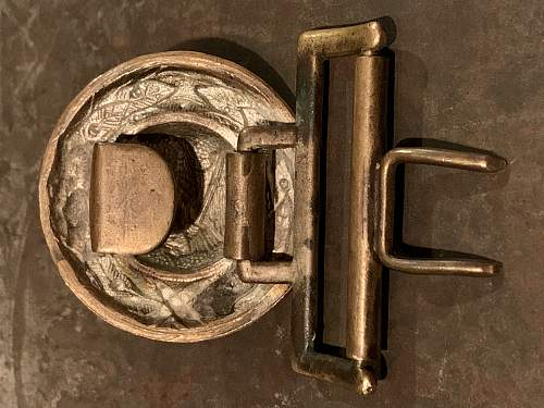 Penal Official's First Pattern Buckle