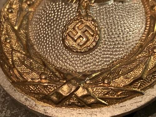 Dipomatic / NSDAP Buckle by Assmann