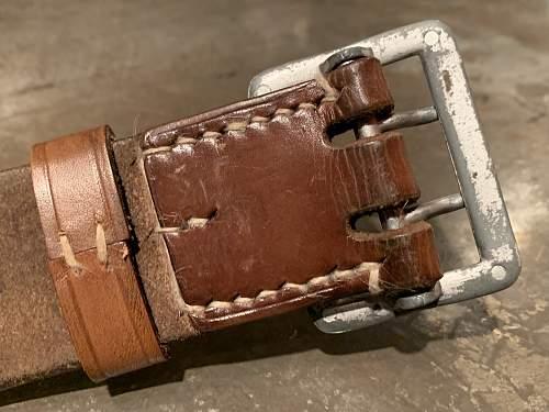 Heer Officer's Belt & Buckle