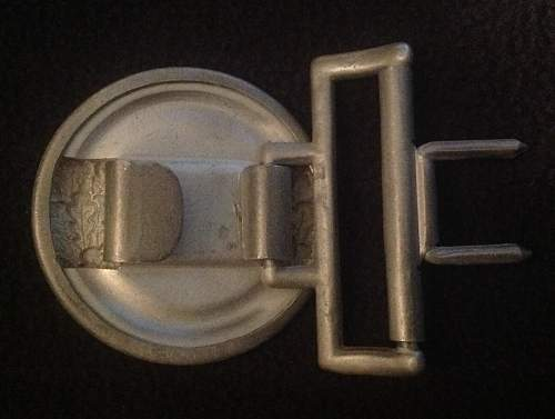Unusual  Heer Officers Buckle