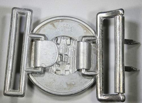 Deutsches Red Cross DRK Officers Belt Buckle