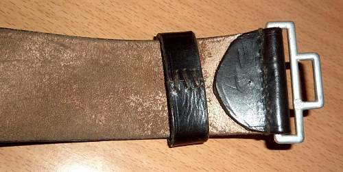 SS officer belt