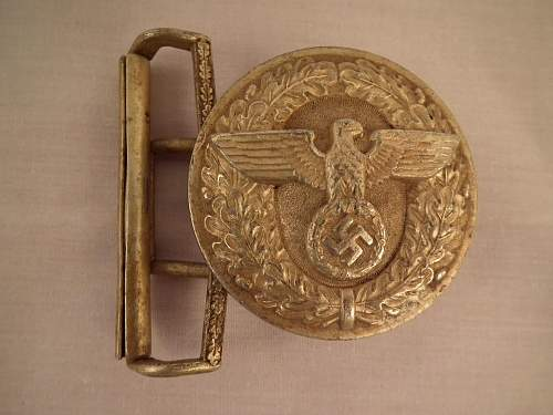 Political Officers buckle M4/39