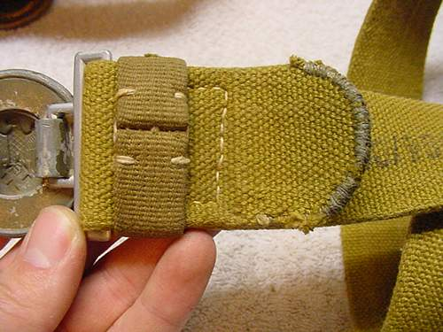 Help needed with some officer belts. LW / Heer / tropical / Police