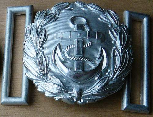 Four Officers Belt Buckles Real?