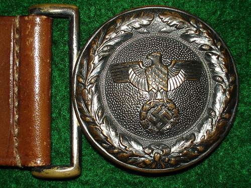 State Forestry Buckles