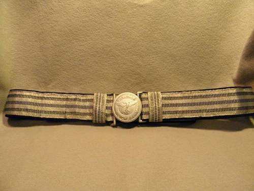Reichsbahn Officers Brocade & Buckle: Opinions Please