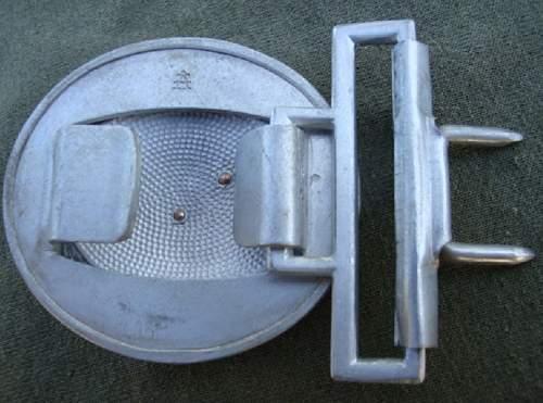 NSFK Officer's buckle