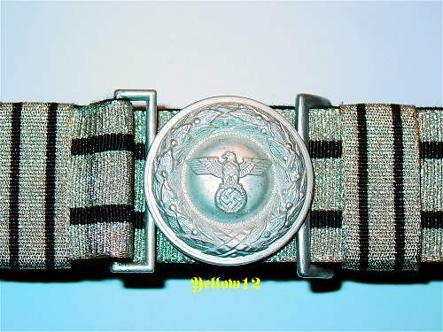 Justice official buckle