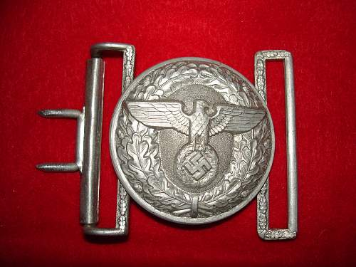 52 mm POLITICAL LEADER BUCKLE