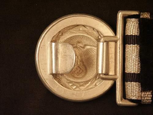 Diplomatic Brocade Belt & Buckle