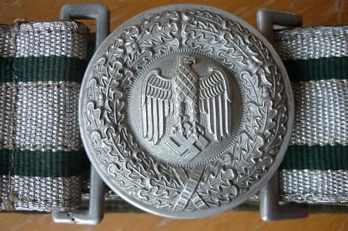 Parade belt officier