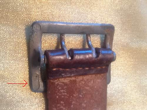 Two Prong Officer's Belt