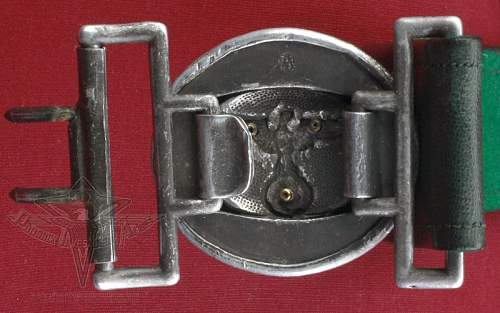 Forestry officers buckle