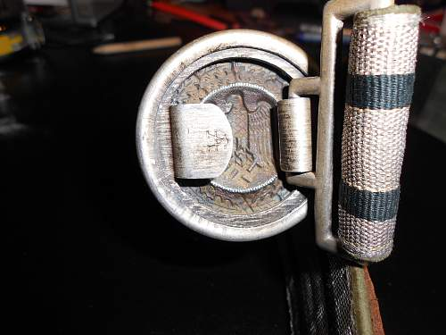 Heer brocade belt