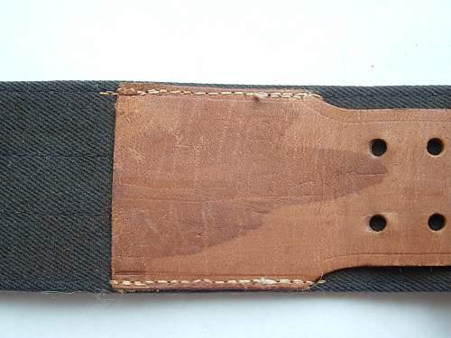 Luftwaffe brocade belt buckle