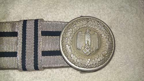 Heer Officers Belt and Buckle