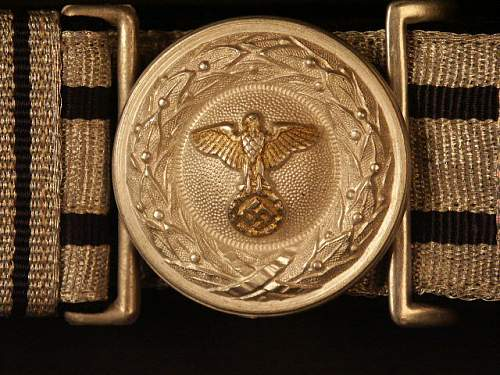 Diplomatic & government officials buckles
