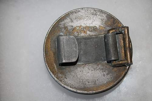 Buckle #1 Please help to ID and verify